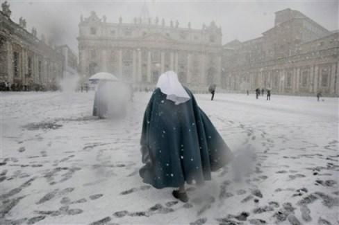Neve em São Pedro