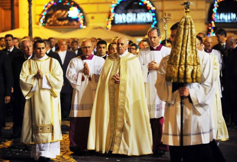 papa-processione