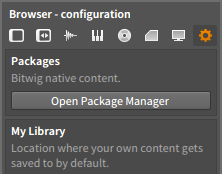 Open Package Manager