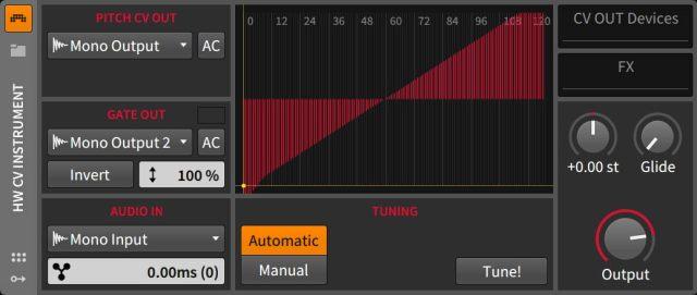 HW CV Instrument
