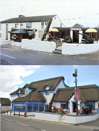 Wooden House Then and Now