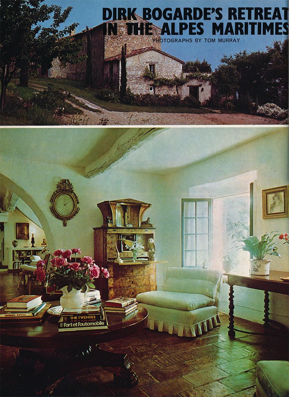 Dirk Bogarde House Amp Garden Dec 1975