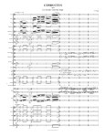 First page of my one recent score for huge orchestra.