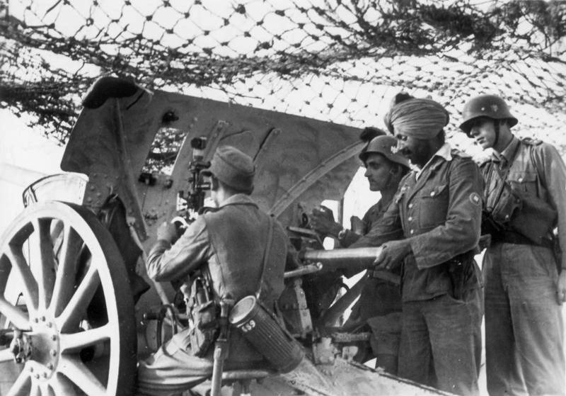 Free Arabian Legion And The Free Indian Legion History