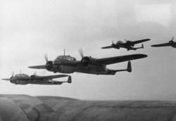 Belgien/Frankreich, Flugzeuge Dornier Do 17