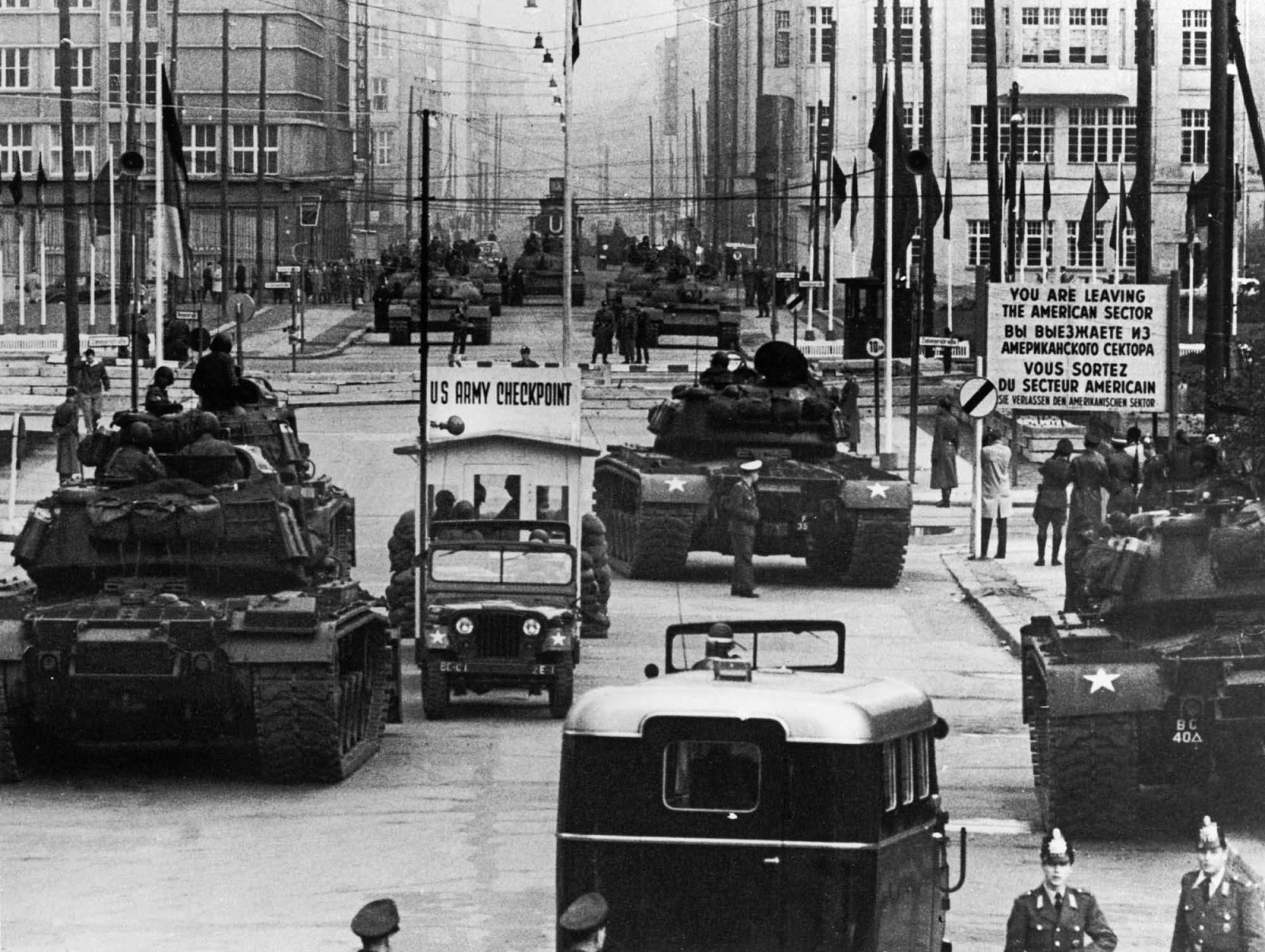 The Standoff At Checkpoint Charlie