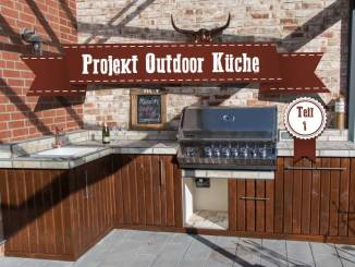 Outdoor Kitchen Teil 1