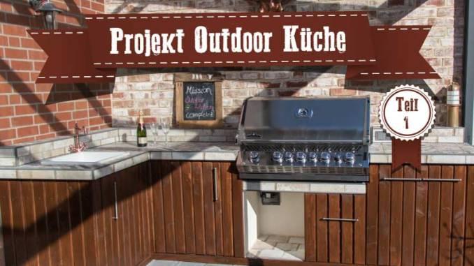 Outdoor Küche Gasflasche : Projekt outdoorküche teil 1 planung und fundament gießen