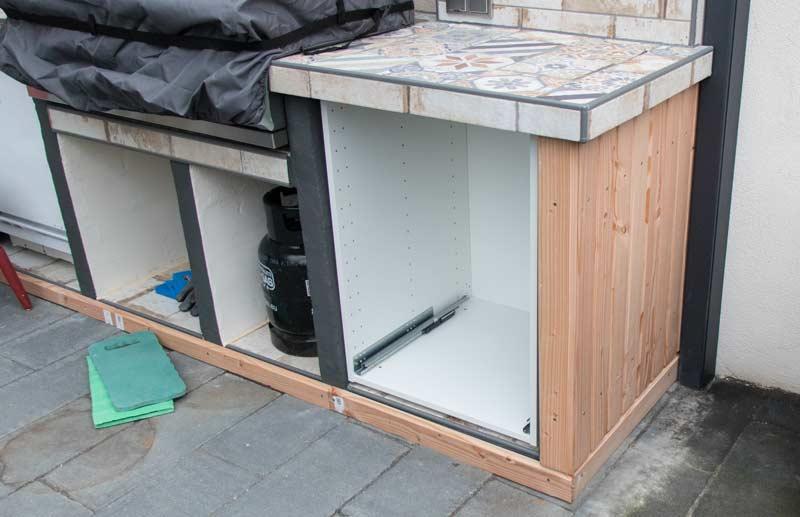 Outdoor Küche Ikea Qualität : Projekt outdoorküche u2013 teil 6 u2013 das finale und endergebnis