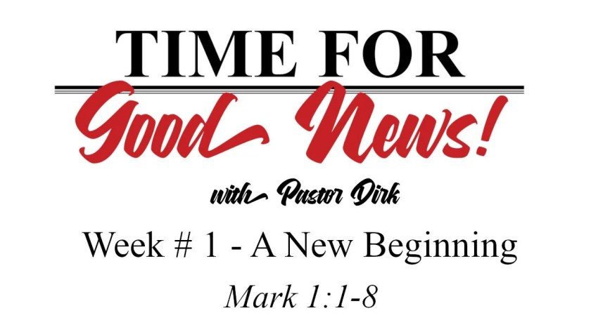 Time for Good News - Week 1
