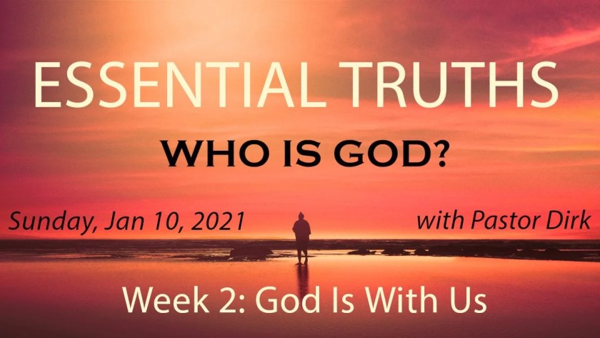 God Is With Us Week 2