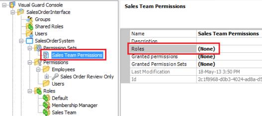 Sales Team Permission Set