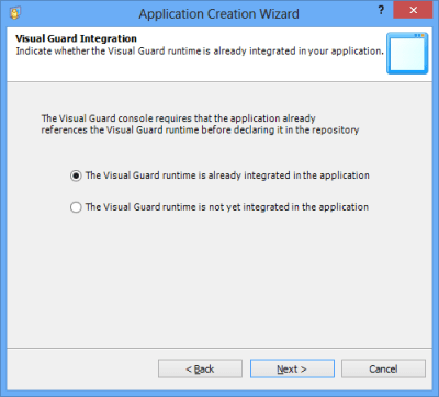 Visual Guard Integration Runtime Integrated