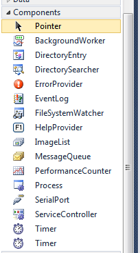 Windows Service Timer Toolbar Added