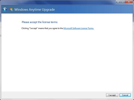 Windows Anytime Upgrade