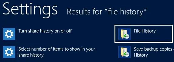 Windows 8 Search Results