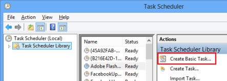 3 Create a Basic Task in Task Scheduler Library