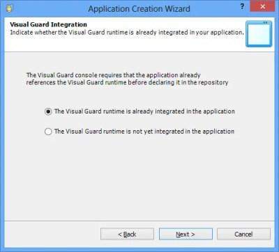 Visual Guard Integration Runtime Integrated