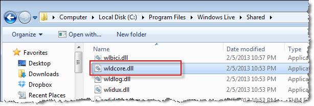 wldcore.dll