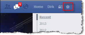 Facebook Privacy change security settings