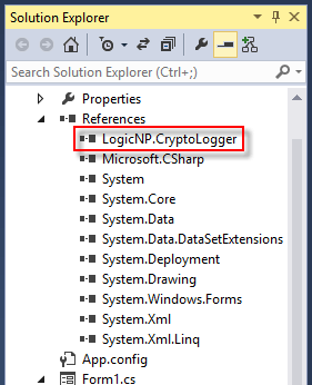 crypto logger for net reference