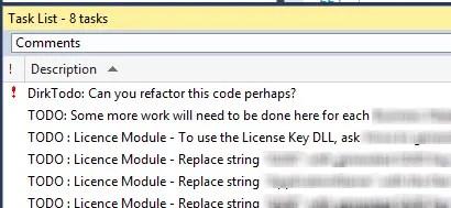 Visual Studio 2013 Custom Tokens