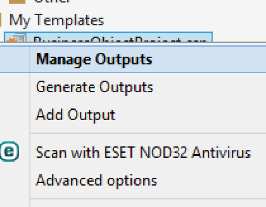3 Manage Outputs