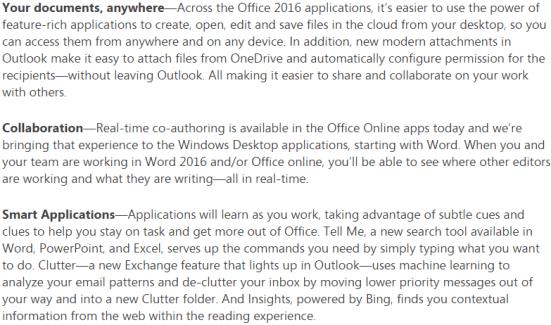 Office 2016 Public Preview
