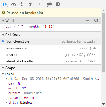 Chrome Dev Tools Adding Expressions To Watch Window