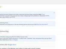 Membangun Website Pribadi Menggunakan Blogger