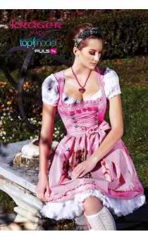 Krüger Dirndl rosa