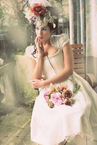 Brautdirndl kurz