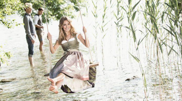 Sommerdirndl aus dem Hause Greif am Tegernsee