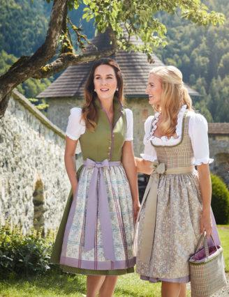 Trachtendirndl und Accessoires Susanne Spatt Sommer 2018