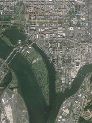 Image I DC Rivers Google Maps