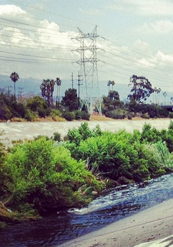 The Los Angeles River / The Architect's Newspaper