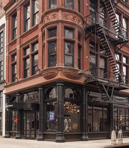 John Varvatos boutique, downtown Detroit / John Varvatos