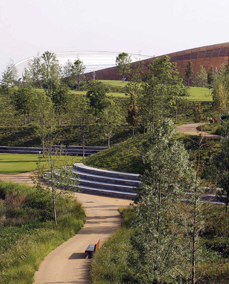 Queen Elizabeth Olympic Park, London /