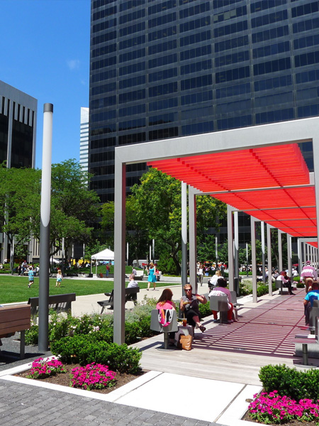 Perk Park, Cleveland by Thomas Balsley Associates / Land Studio