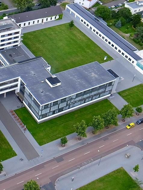 Bauhaus-aerial