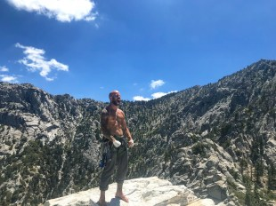 Yelling from the summit of tahquitz