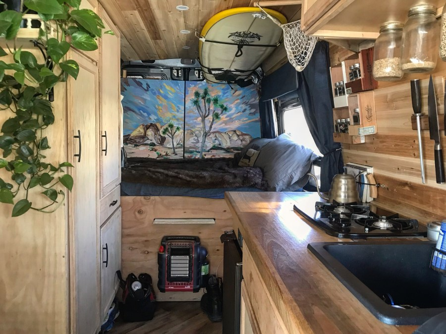 Van build bed