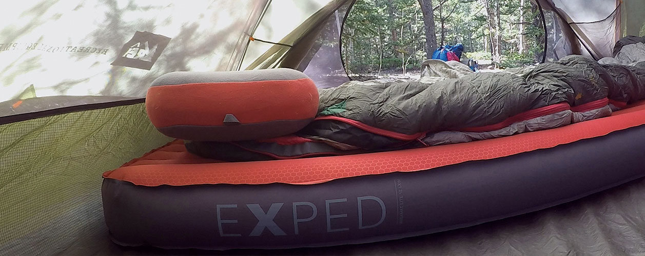 proview exped megamat lite 12 lxw and mega pillow dirtbag dreams gear reviews