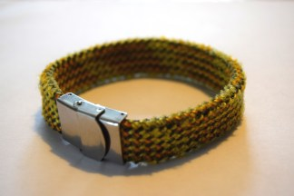 Recycled climbing rope jewellery
