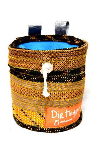 Dirtbags chalk bag recycled climbing rope
