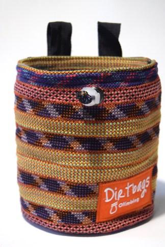 recycled climbing rope chalk bag dirtbags climbing