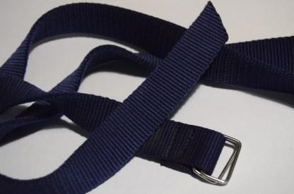 Nylon webbing belt for chalk bag