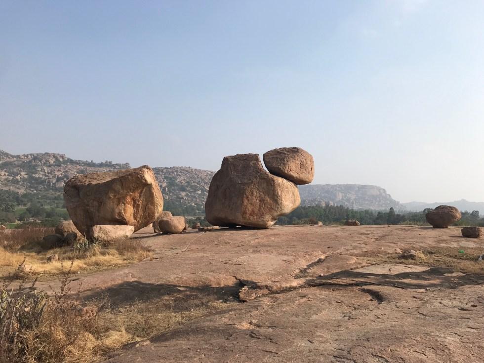 Hampi bouldering, India