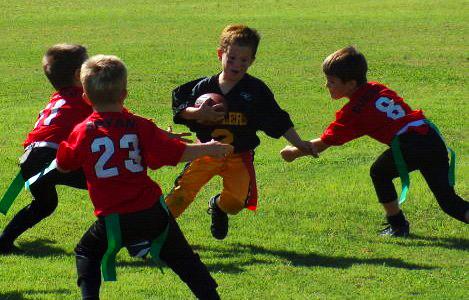Coaching Pee-Wee Flag Football is Like Herding Cats (2/3)