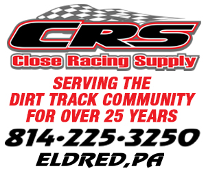 Ad for Close Racing Supply